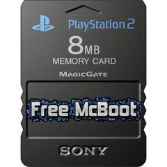 Accessory | PS2 | Free MCBoot Memory Card FMCB for Sony PlayStation 2 Homebrew