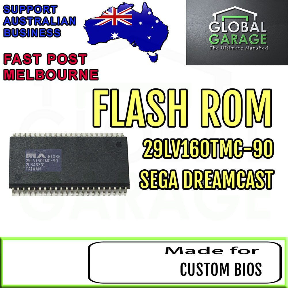 Parts | Service Repair | SEGA Dreamcast Region Free BIOS Chip 29LV160TMC-90