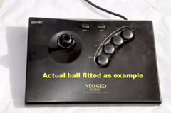 Replacement Parts & Tools - Parts | SNK Neo Geo AES | Joystick Ball Top Black Replacement