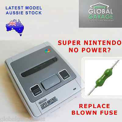 Parts | Modding | Super Nintendo SNES Replacement 1.5A Pico Fuse No Power Fix