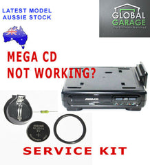 Parts | Modding | SEGA CD Mega CD Service Kit Belt Battery Socket Fuse Repair
