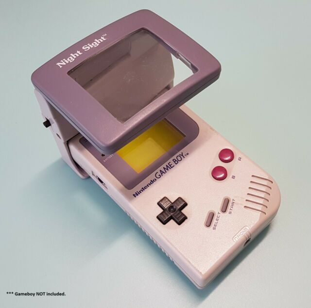 Accessory | Nintendo GameBoy | Night Sight Light Magnifier