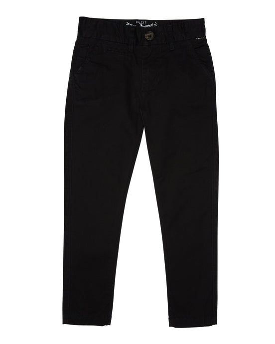 HILTON CHINO PANTS BLACK
