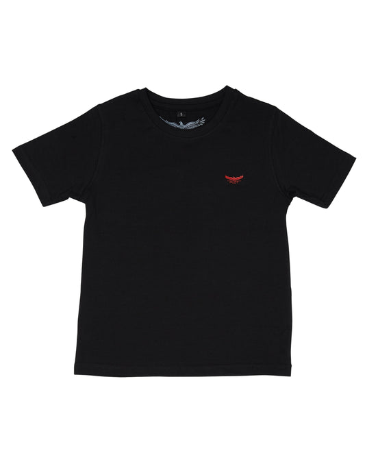 BASIC CREW NECK BLACK