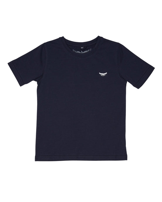 BASIC CREW NECK NAVY