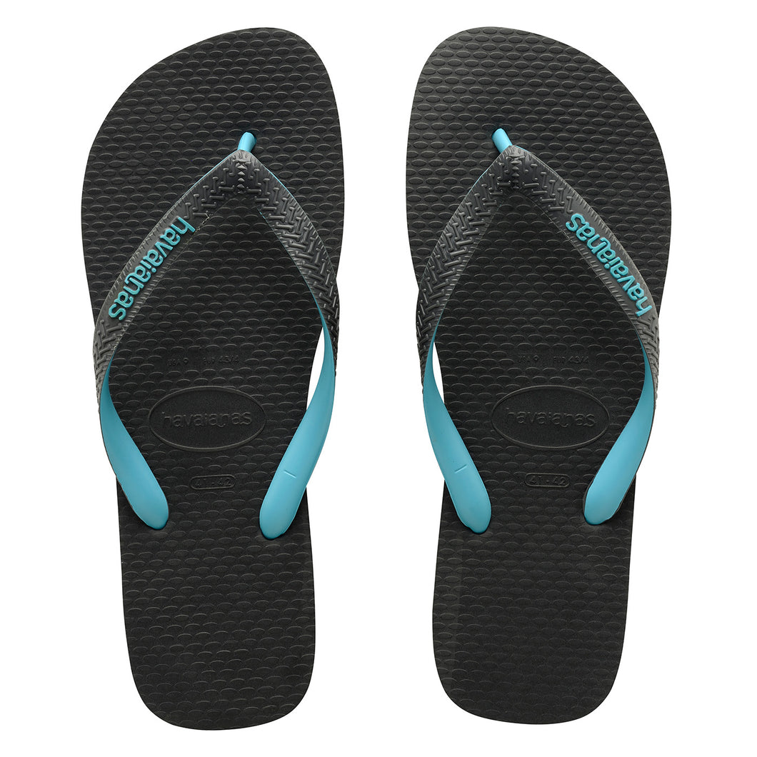 Rubber Logo Grey/Turquoise