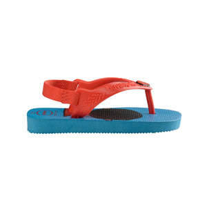 Baby New Herois (Superman) Turquoise Thongs