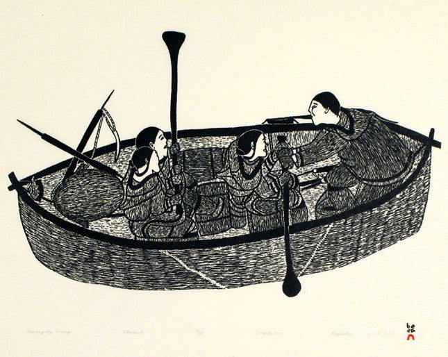2000 JOURNEY BY UMIAQ by Napachie Pootoogook