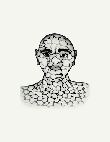 2018 Pebble Man by PADLOO SAMAYUALIE