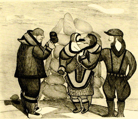 1989 WHALER'S EXCHANGE by Napachie Pootoogook