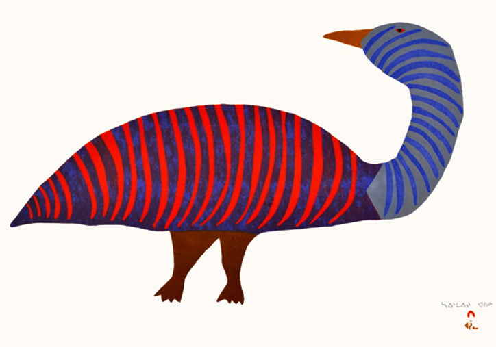 2014 STRIPED GOOSE by Saimaiyu Akesuk