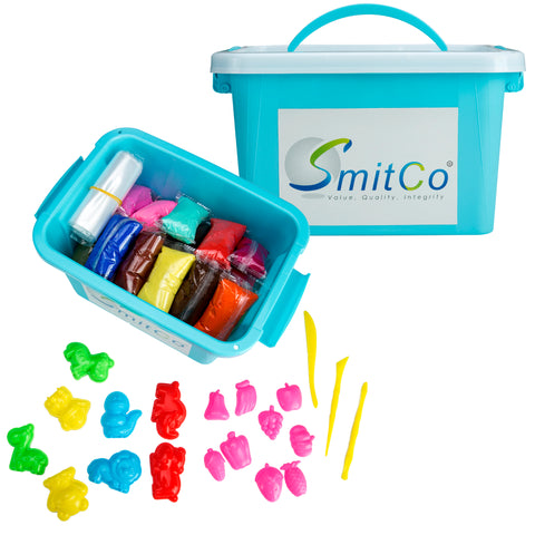 SMITCO Air Dry Clay Set for Kids