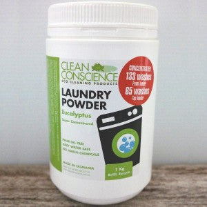 Laundry Powder (Super Concentrated) from Conscience Cleaning
