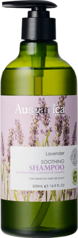 Lavender Shampoo (Sensitive Hair or Scalp) - Ausganica