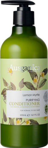 Lemon Myrtle Conditioner (Normal to Oily Hair) - Ausganica Organic