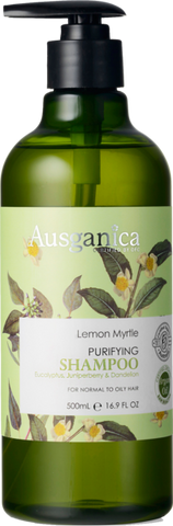 Lemon Myrtle Organic Shampoo (Normal to Oily Hair) - Ausganica