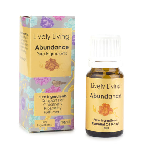 Organic Essential oil blend (Abundance) - Lively Living