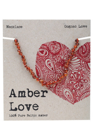Amber teething Necklace from Amber Love