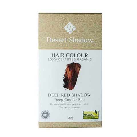 Hair Colour DEEP RED from Desert Shadow