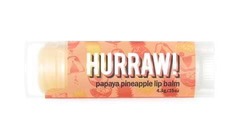 Lip Balm (Papaya Pineapple) from Hurraw