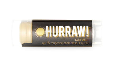 Lip Balm (SPF 15 - Tangerine & Chamomile) from Hurraw