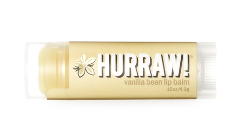 Lip Balm (Vanilla) from Hurraw