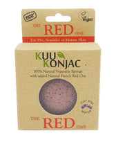 Kuu KONJAC Facial Sponge-RED