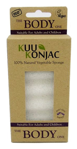 Kuu KONJAC 6 Wave Body Sponge