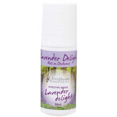 Deodorant Roll On  from Vrindaven- Lavender Delight