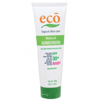All Natural Sunscreen by ECO-BABY 30+