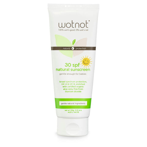Wot Not Sunscreen 30+ (Baby / Kid Safe)