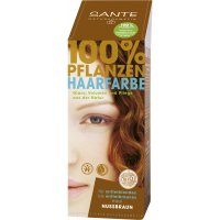 Henna Hair Colour Nut Brown from Sante