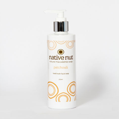 Patchouli Liquid Macadamia Soap - Native Nut