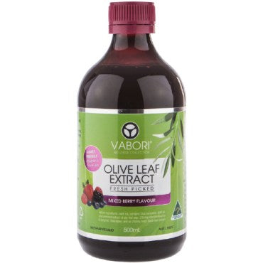 Olive Leaf Extract (Mixed Berry Flavour) - Vabori