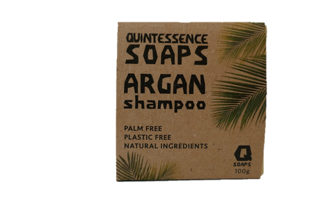 Argan Shampoo Bar by Quintessence