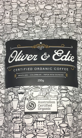 Organic Whole Bean Coffee - Oliver & Edie