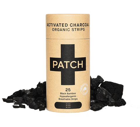 PATCH Adhesive Organic Strips - Activated Charcoal