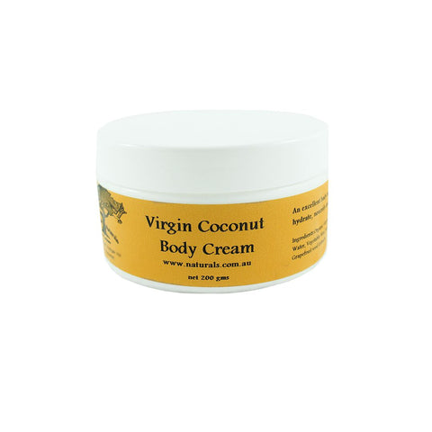 Virgin Coconut Body Cream from Handmade Naturals