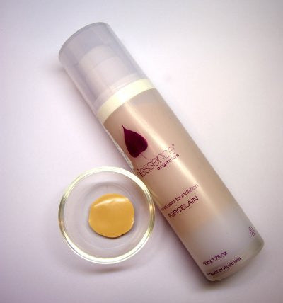 Organic Fluid Foundation from MiEssence Porcelain