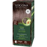 Henna Hair Colour Dark Brown (formally Brown Umber) from Logona