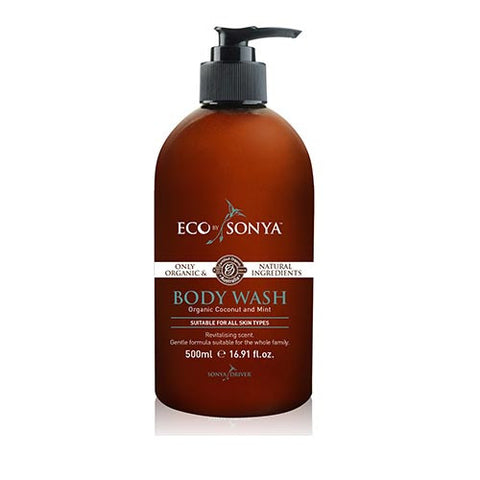 Body Wash-Coconut & Mint-Organic from Eco by Sonya
