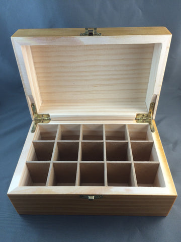 Wooden Essential Oil Box SMALL