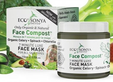 Face Compost Mask from Eco by Sonja