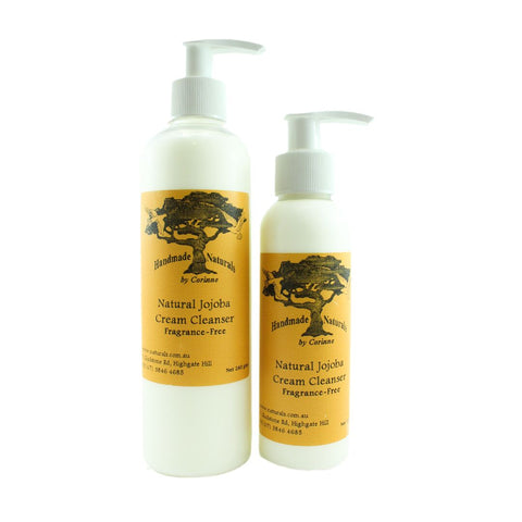 Jojoba Cream Cleanser (Fragrance Free) from Handmade Naturals