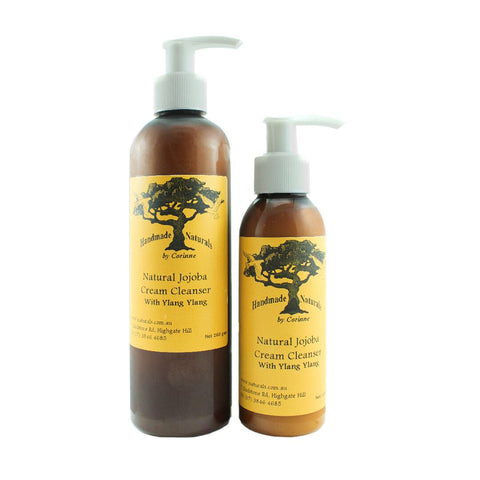 Jojoba Cream Cleanser with Ylang Ylang From Handmade Naturals