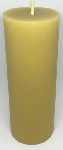 Pure Beeswax Thin Pillar Candle (Large)