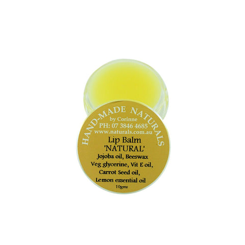 Lip Balm from Handmade Naturals Natural