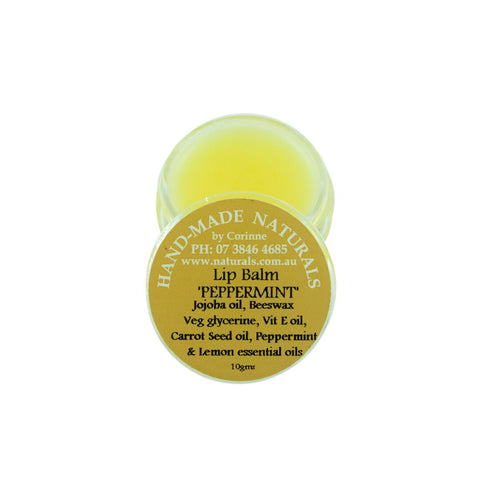 Lip Balm from Handmade Naturals Peppermint