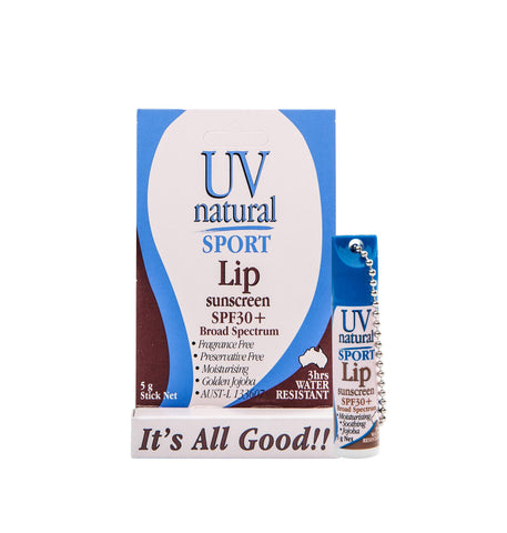 UV Natural Lip Sunscreen Sport 30+