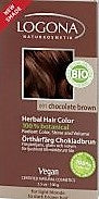 Henna Hair Colour Chocolate Brown from Logona